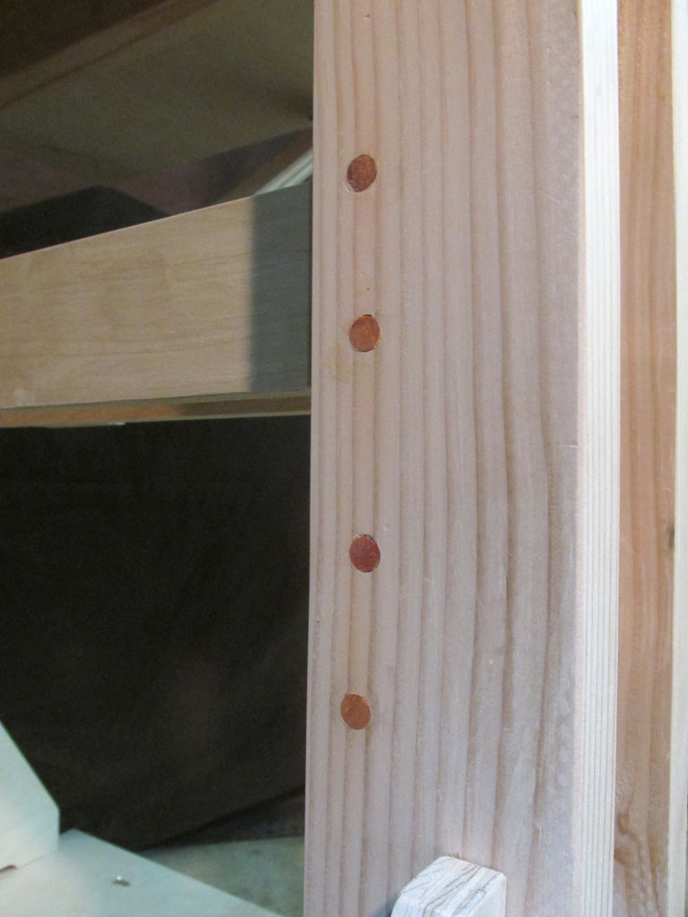 Finishing: Plugging the Screw Holes