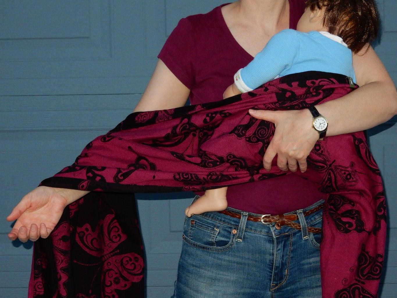 Spread the Wrap Across Your Arm.
