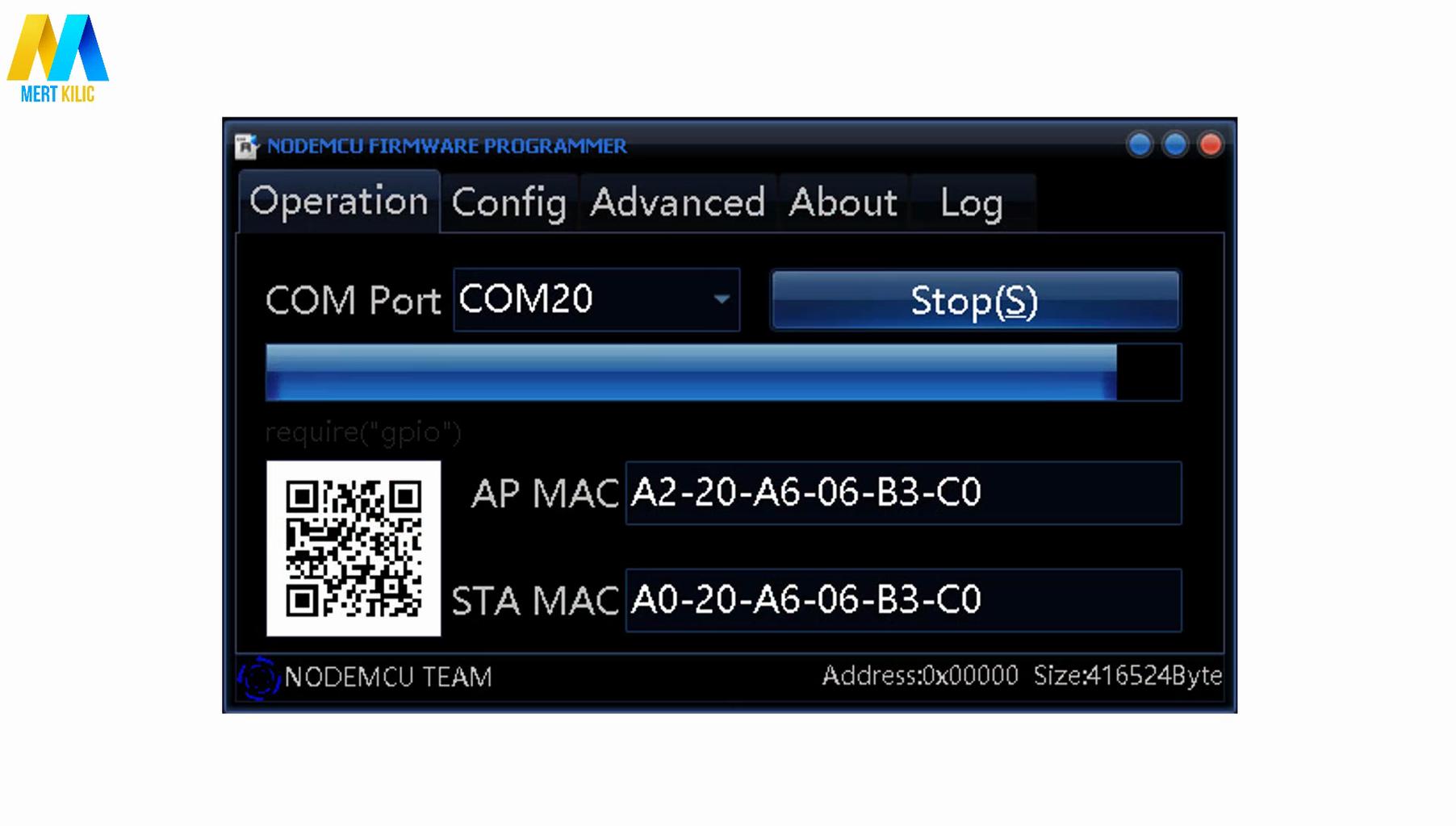 ESP-01 Flasher + IFTTT + Arduino IDE Source Code