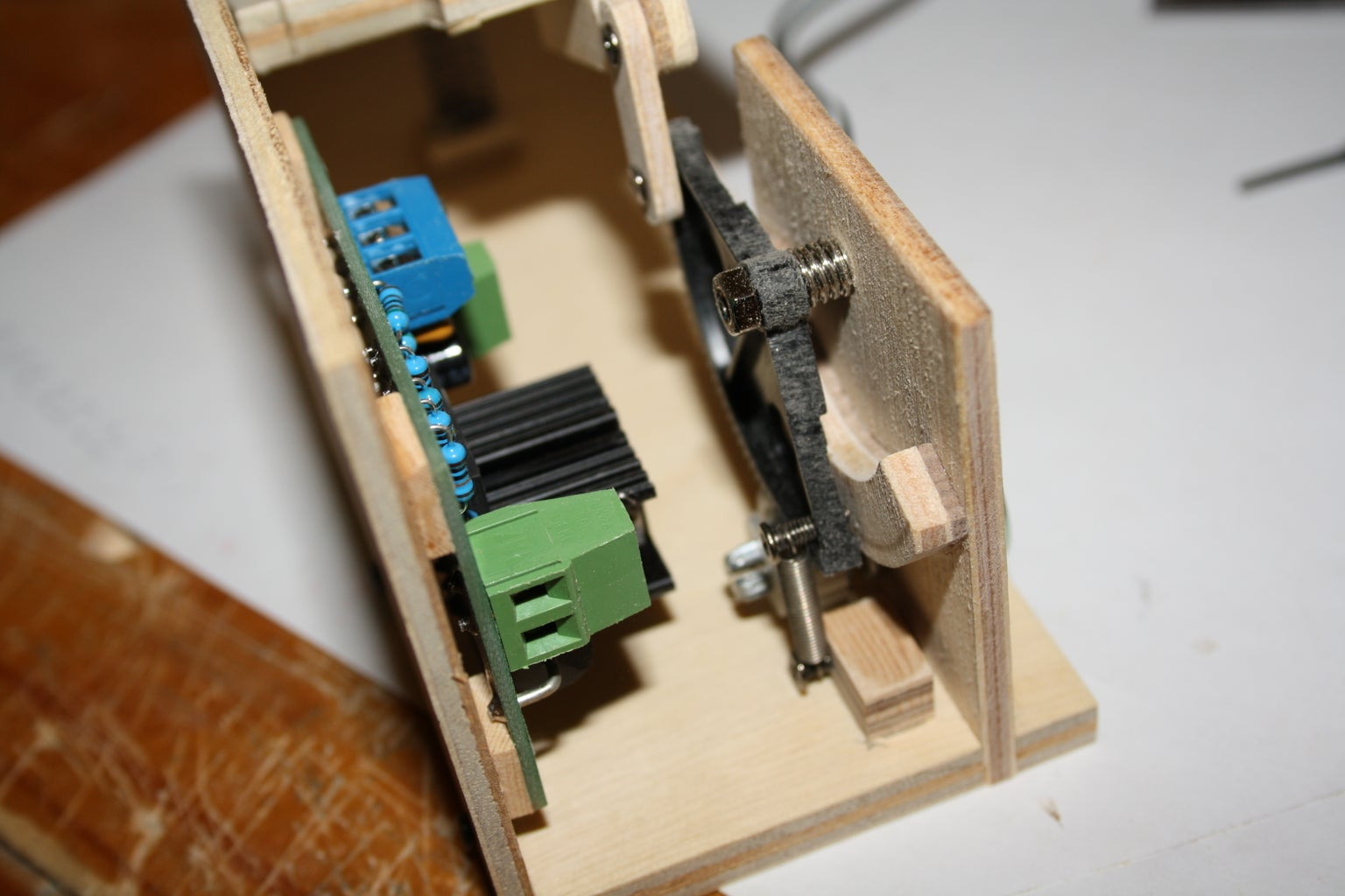 The Foot Pedal | Enclosing the Internals
