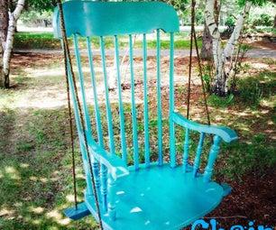 Re-purposed Chair Swing