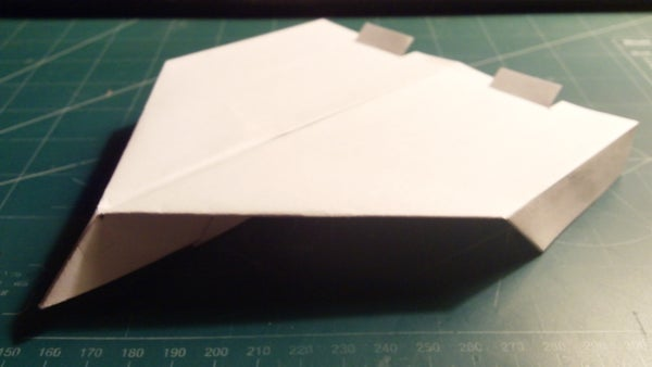 How to Make the Simple Spectre Paper Airplane