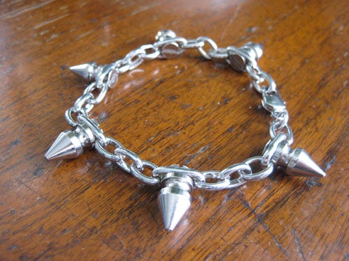 DIY Spike Chain Bracelet