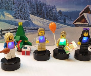 Lego Minifig LED Party Sweaters