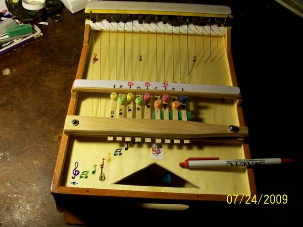 HOW TO MAKE a MINI-ZITHER OF 2 OCTAVES