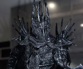 Cheapest Sauron Cosplay