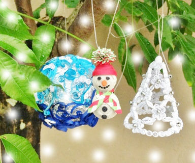 Paper Quilled  Ornaments