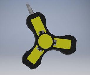 Screw Driver Fidget Spinner
