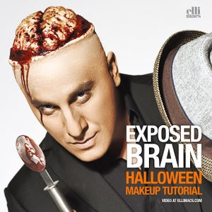 Exposed Brain - SFX Makeup Tutorial