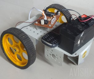 Control Your Robot Using Cellphone