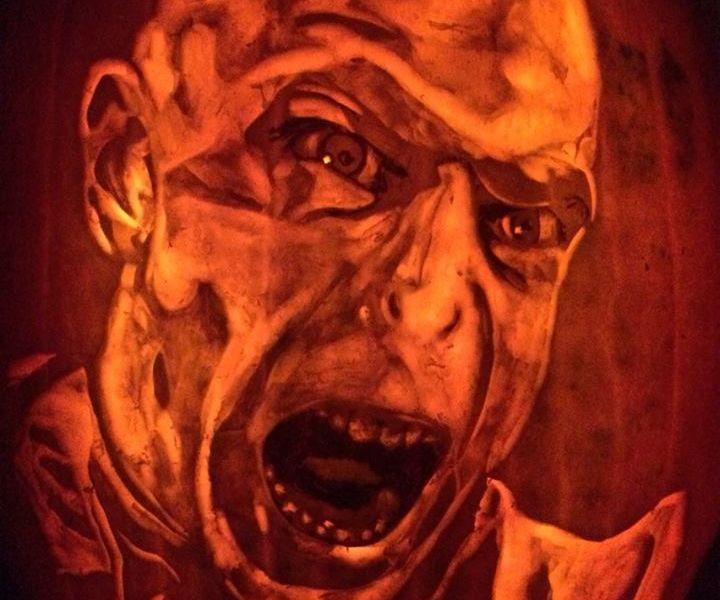 Harry Potter vs Voldemort Pumpkin Carving