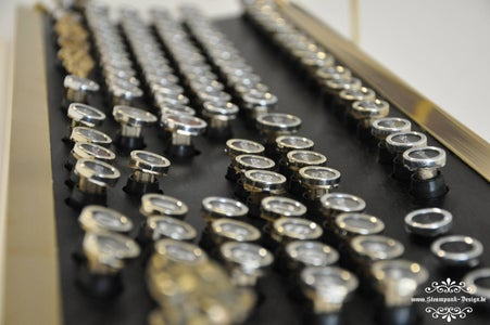 Most Detailed Steampunk Keyboard Instruction