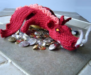 Crochet Dragon - Smaug From the Hobbit