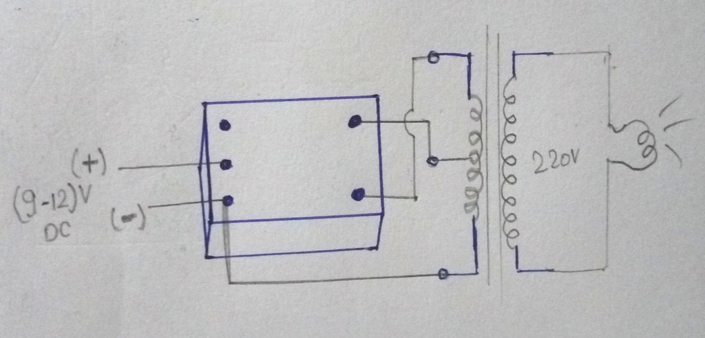How To Make Inverter Using Relay 7 Steps Instructables