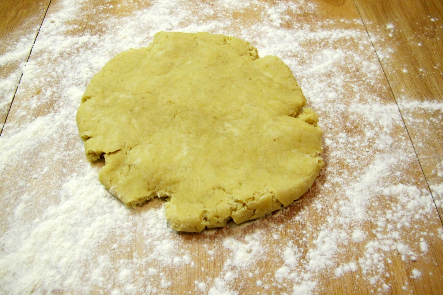 Roll the Dough Flat