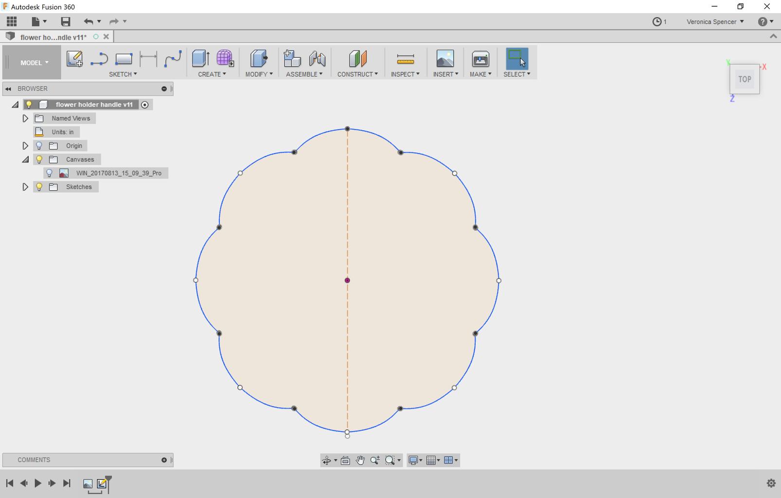Draw the Item Interface.
