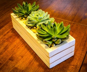 Succulent Planter From Pallets