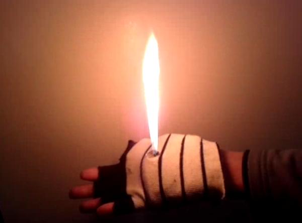 Homemade Hand Flamethrower Ver 2.0