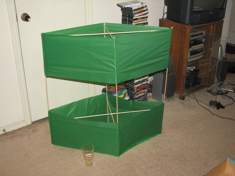 Prepare the Frame! Assemble the Kite!