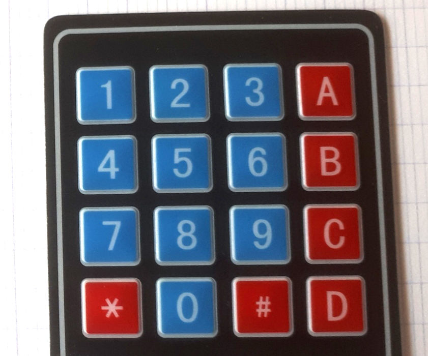 Using a 4x4 KeyPad With CircuitPython