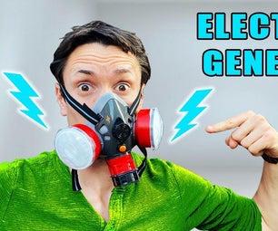 我们能让面膜发电吗?