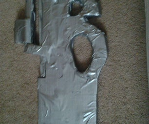 Cardboard FN P90