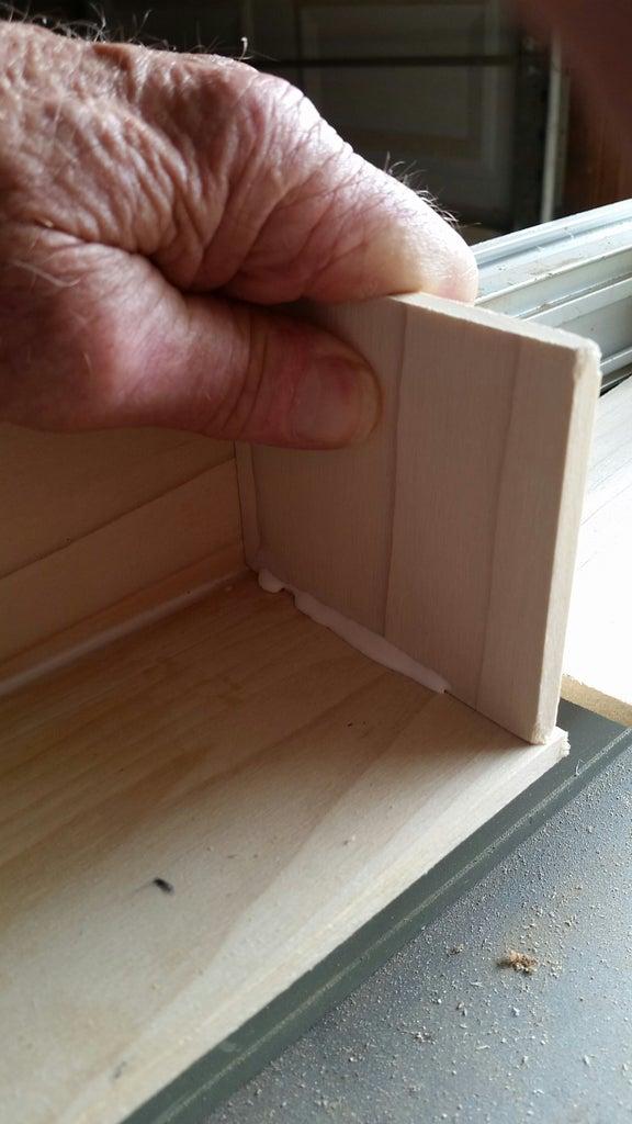 Adding the Shelves.