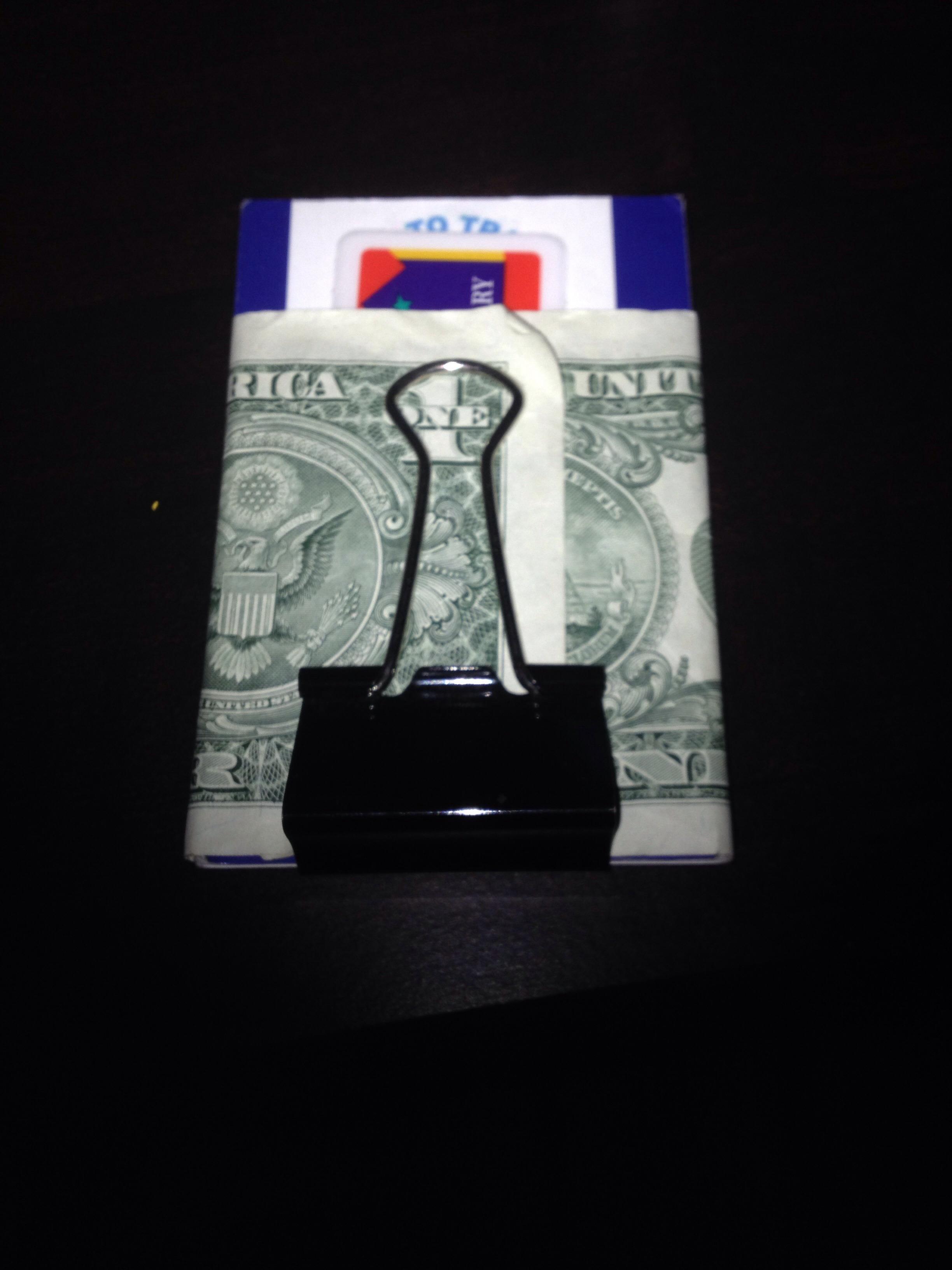 Cheap Binder Clip Wallet