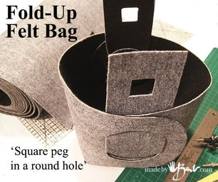 Fold-up Felt Bag