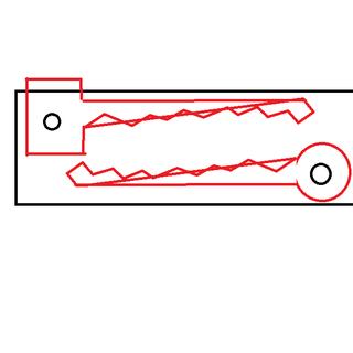 DIY Key-Blade Organizer