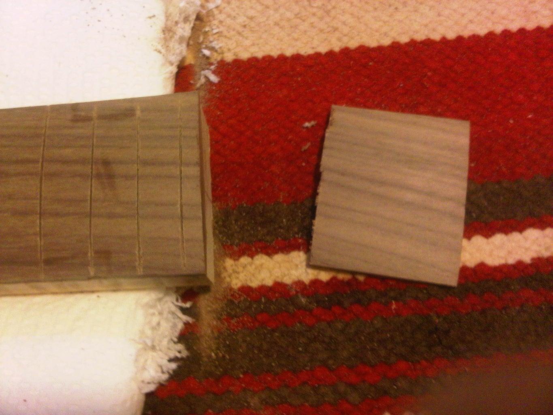 Neck 1.01 Making a Fret Board