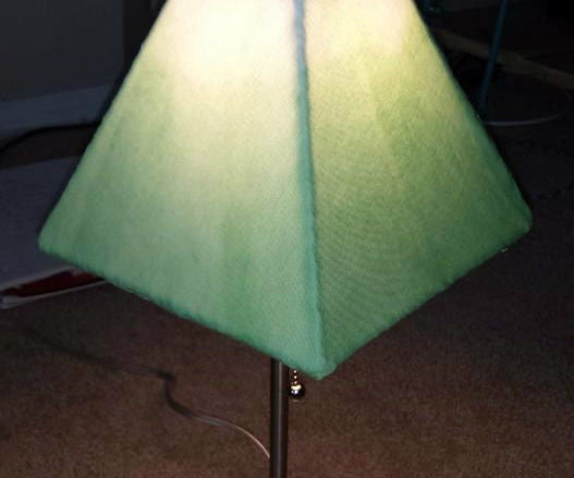 Sew Your Own Fabric Lamp Shade