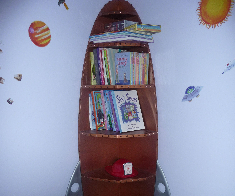 Rocket Corner Shelf