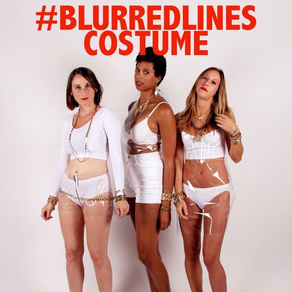 Blurred Lines Costume