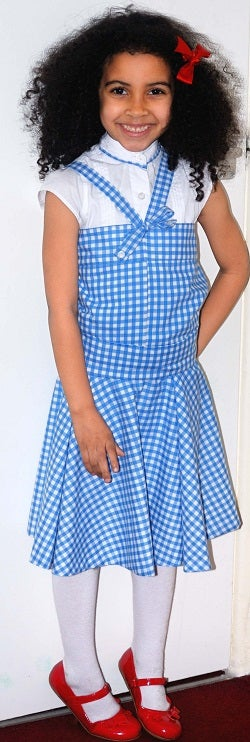 Wizard of Oz (My Version Outfit). Dorothy Gale Dress.