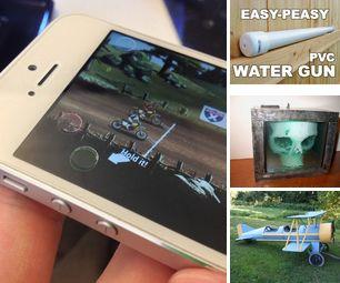 [newsletter] Touchscreen Game Buttons, PVC Water Gun, 3D MRI Skull Lamp