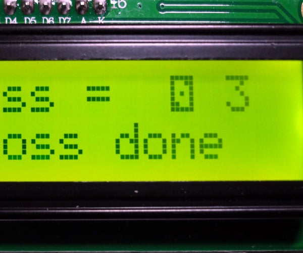 Simulated Die Toss With Arduino