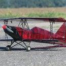 Repairing Crashed 3D Printed Biplane 10-300S