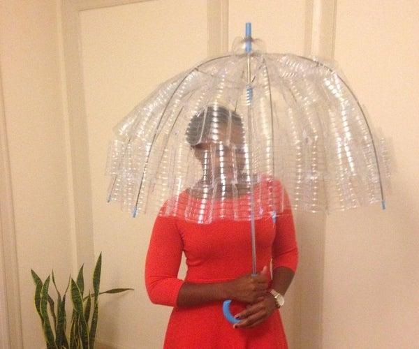 Textured Water Bottle Umbrella