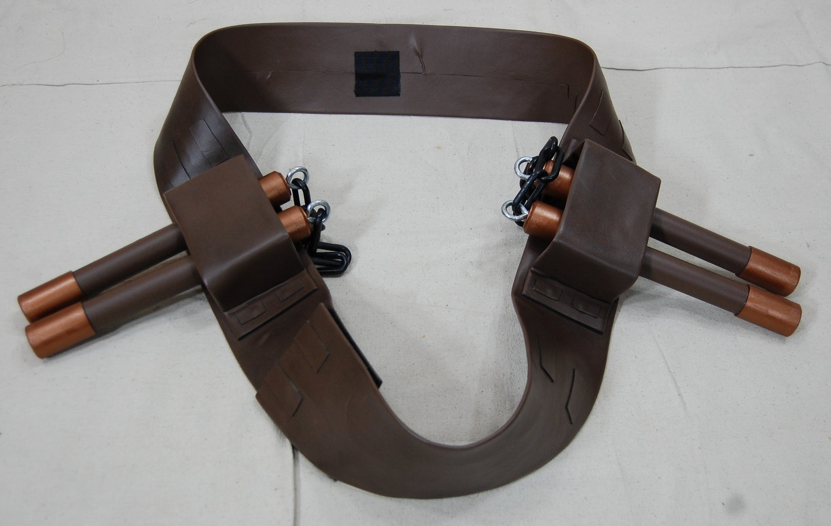The Belt With Nunchaku Holders