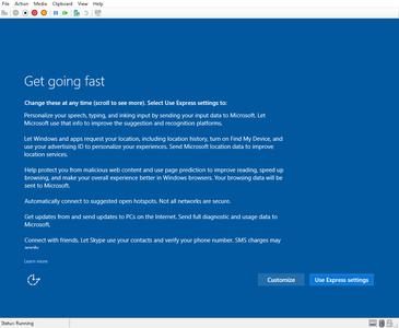 Choose Windows Settings