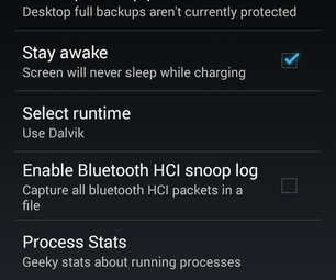 Change Android Runtimes