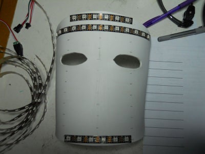 LED Placement and Wiring