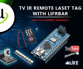 LaserTag With TV IR Controllers Part 1.