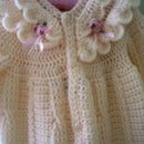 Ruffled Fisherman Baby Bunting