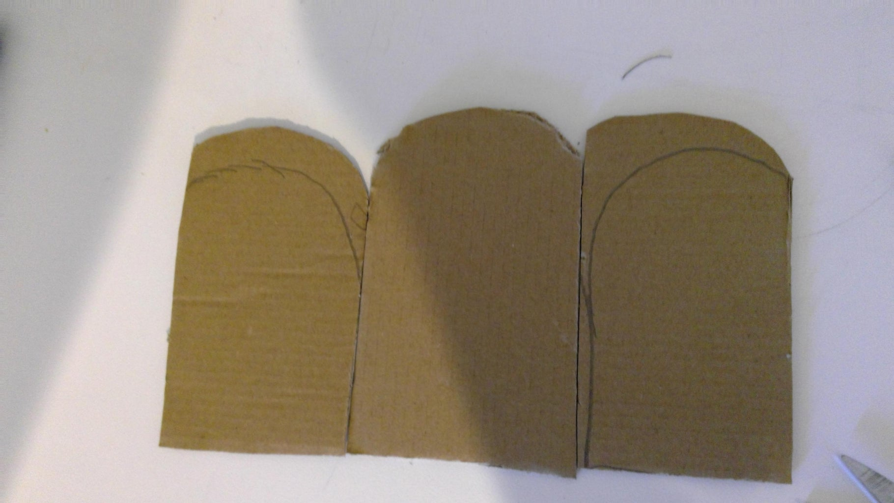 Prepare Cardboard