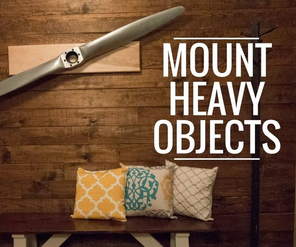 Wall Mount for Heavy Items