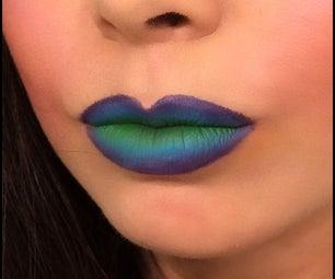 Tricolor Ombré Lips