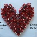 K'nex Valentine Hearts