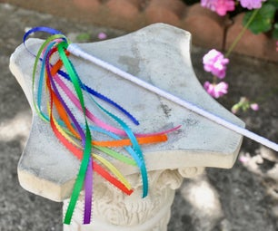 Easy Ribbon Wand